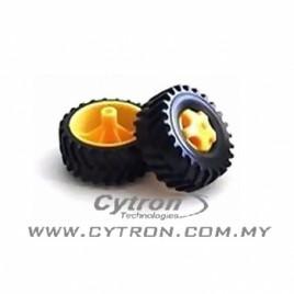 Tamiya Truck Tire Set
