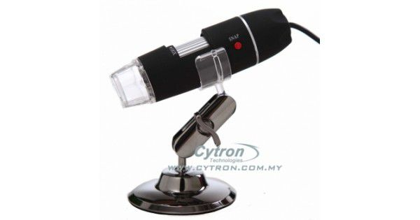 Usb digital microscope 500x cytron technologies