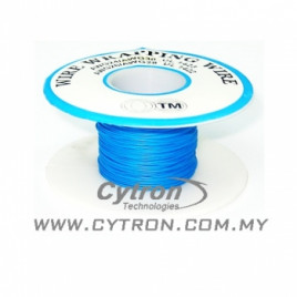Wrapping Wire AWG30 1Roll (Blue)